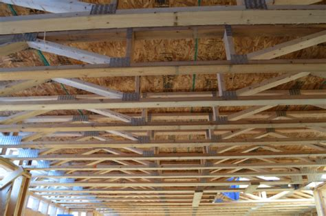 We custom design and build floor trusses with spans up to 40 ft. Installing floor trusses (and trusses vs. joists) - NewlyWoodwards