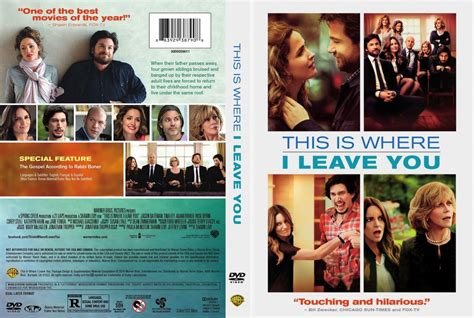 this is for the cover this is where i leave you dvd scanned covers