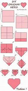 Herz Falten Origami : die besten 25 herz falten ideen auf pinterest origami herz saint valentine und aufblasbar ~ Eleganceandgraceweddings.com Haus und Dekorationen