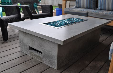 build gas fire table diy propane fire table do it your self