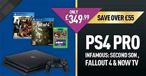PS4 Pro deal for UK with two free games and NOW TV ...