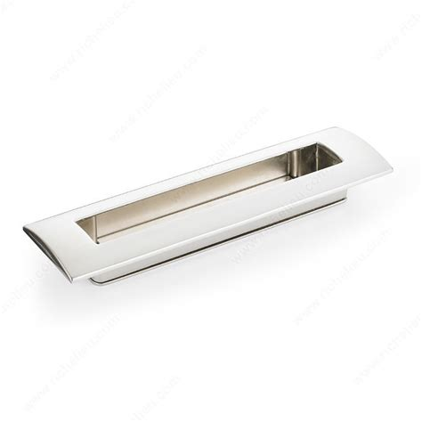 contemporary metal recessed pull 3100 richelieu hardware