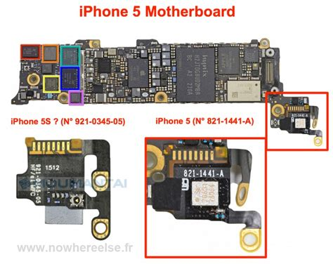 iphone 5 motherboard new iphone 5s component leaked but what is it