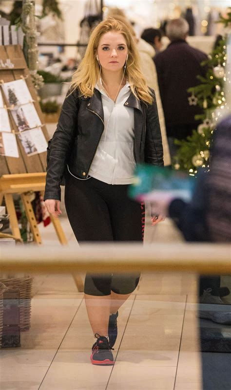 lorna fitzgerald shopping wears black leather jacket