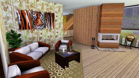 Sims 4 Home Interior Design : Sims 3 House Living Room By Marosstefanovic On Deviantart