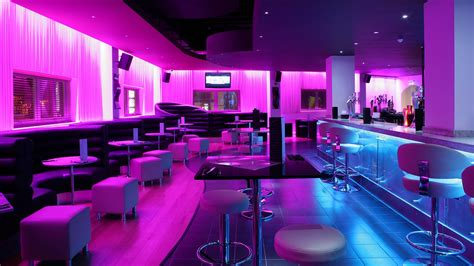 led lights sence nightclub fitted with instyle led