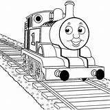 Coloring Thomas Train Pages Easy Boys Engine Tank Very Ecolorings Info sketch template