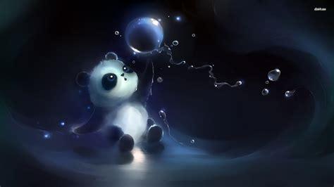 anime panda desktop wallpaper  baltana