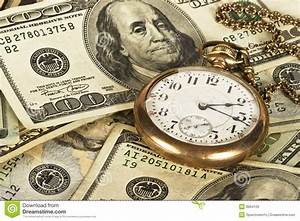 Time Is Money Stock Photo  Image Of Metaphor  Concept
