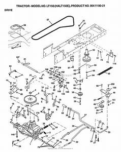 Ayp  Electrolux Lt150  1999  U0026 Before  Parts Diagram For Drive