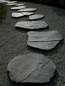 Gartengestaltung Mit Steinen : gartengestaltung mit steinen schwarze steine f r mehr stil und dramatik ~ Whattoseeinmadrid.com Haus und Dekorationen