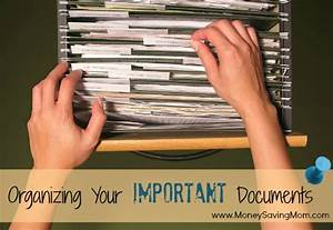 Organizing Your Important Documents: Introduction (Part 1 ...