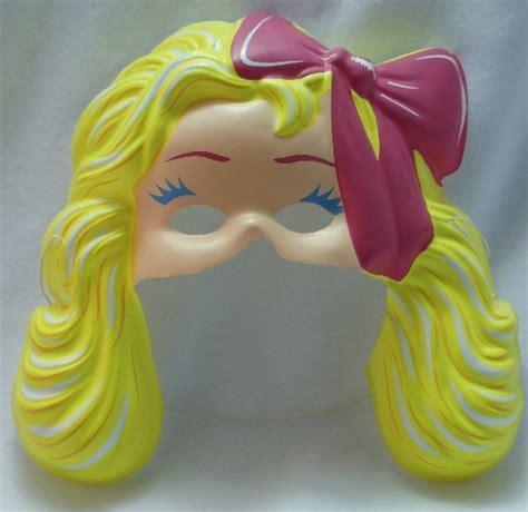 Vintage Fashion Barbie Mattel Halloween Mask Y093
