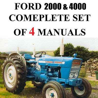 ford  tractor manual owners guide  business