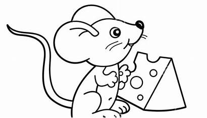 Cheese Coloring Pizza Pages Drawing Mac Mouse