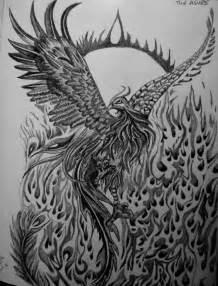 Phoenix Pencil Drawings
