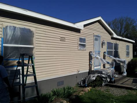 Can I Paint My Mobile Home? Yes I Can!  My Mobile Home