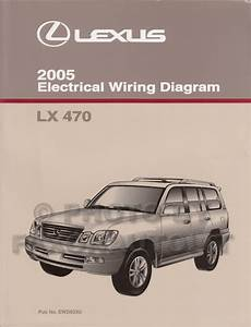1997 Lexus Lx 45wiring Diagram Original