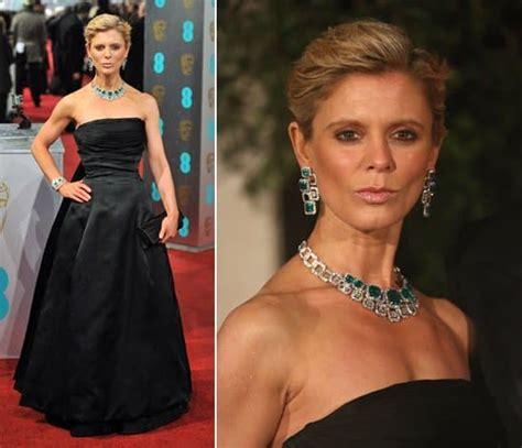 Emilia Fox's Opulent Adler Jewels at the 2013 BAFTA