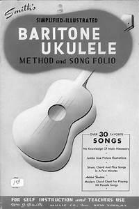 Baritone Ukulele Self Instructor Index And Start Page