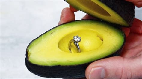 People Are Using Avocados To Propose On Instagram  Todaym. Dermal Implant Wedding Rings. Triton Rings. Ring Style Engagement Rings. Band Engagement Rings. Matte Engagement Rings. Soleste Engagement Rings. Plain Mens Engagement Rings. Clamp Rings
