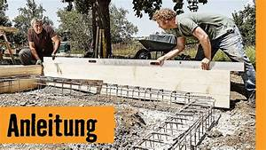Günstig Mauer Bauen : ringfundament bauen hornbach meisterschmiede youtube ~ Sanjose-hotels-ca.com Haus und Dekorationen
