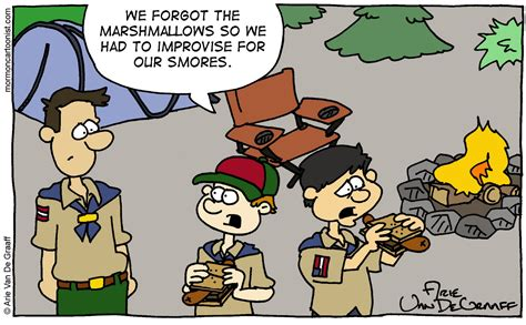 Image result for cub scout camping cartoon pics