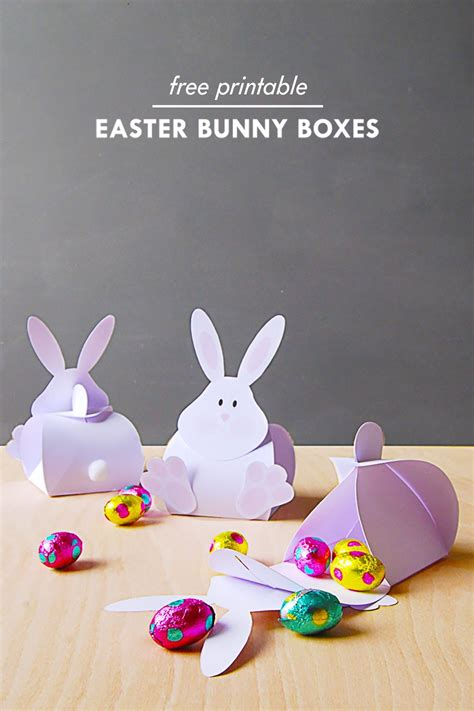 diy easter bunny carrot boxes