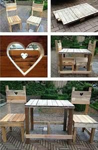 Gartenmöbel aus Paletten – trendy Außenmöbel basteln - diy