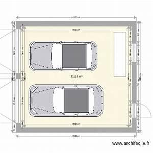 Garage 2 Voitures : garage 2 voitures plan 1 pi ce 33 m2 dessin par jeremy27240 ~ Melissatoandfro.com Idées de Décoration