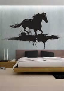 Modern horse uber decals wall decal vinyl decor art sticker