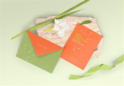 greeting card mockup  invitation card mockup