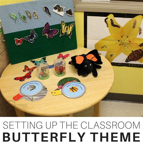 25 favorite preschool learning themes 467 | Setting up the Toddler and Preschool Classroom for the Butterfly Themes