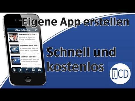 eigene app erstellen schnell und kostenlos ios android