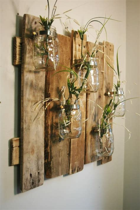 big wall decor unique large wall piece with clear mason jars wall decor