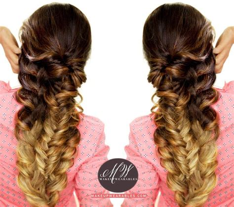 easy stacked braid tutorial cute summer hairstyles