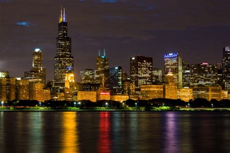 Free Chicago Photo by Chicago Skyline At Free Stock Photo Domain