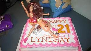 21st birthday Barbie cake | Funny | Pinterest | Barbie ...
