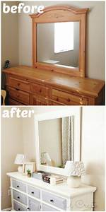 How To Use Chalk Paint - Dresser Makeover - U Create