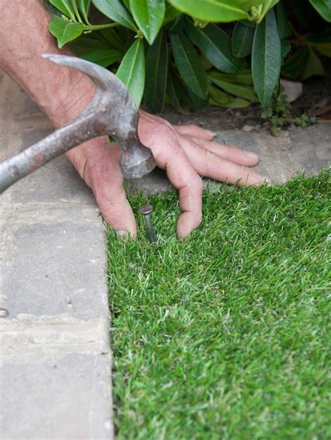 cost to lay grass how to lay artificial turf how tos diy