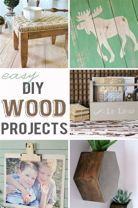 easy diy wood projects mmj link party