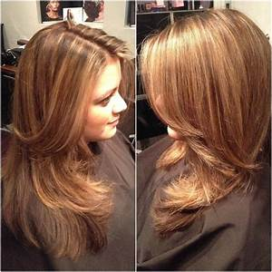 Dark Chocolate Brown Hair With Caramel Highlights | hair ...