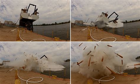 Rock The Boat Change Positions by Dramatic Video Captures Ship Launch Going Horribly Wrong