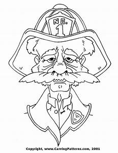 free wood carving pattern - jeneral face Learn how to