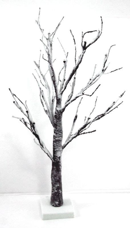 artificial led snowy twig tree  artificial