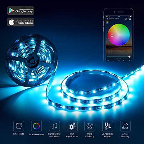 wifi led light strip nexlux led strip lights wifi wireless smart phone