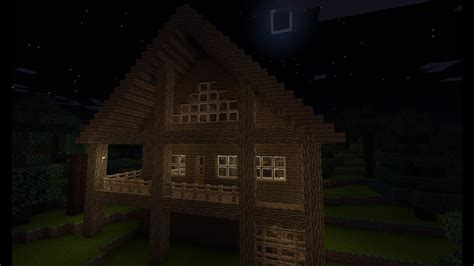 minecraft cabin youtube