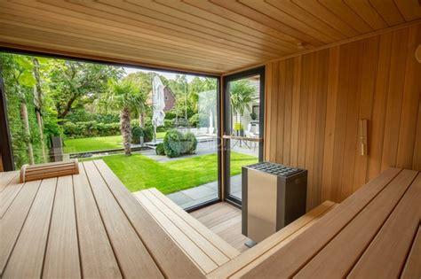 Project Outdoor Sauna Outdoor Shower Modern Deck