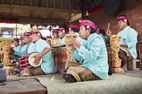 gamelan orchestra  barong dance bali indonesia