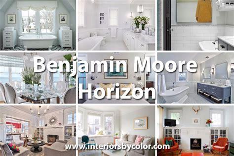 benjamin horizon interiors by color